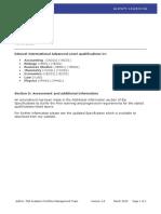 International Advanced Levels - Erratum Notice March 2015