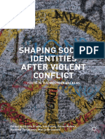 Shapping Social Identities After Violent Conflit