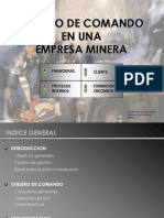 11.2 Tablero de Comando Minera