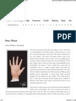 Venus Mount_ Palmistry Illustrated Guide - Auntyflo.com
