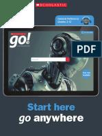 Scholastic Grolier Online Brochure (Export Region)