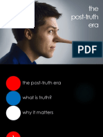David Fraser - The Post-Truth Era - Notes 1 - The Post-Truth Era