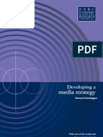 Developing Media Strategy