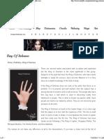 Ring of Solomon _ Palmistry Illustrated Guide - Auntyflo.com