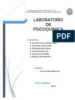 LABORATORIO FÍSICOQUÍMICA I