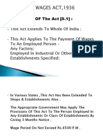 Payment of Wages Act,1936