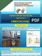 Clase v Cimentaciones Geotecnia