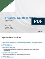 FAS2600 SE Presentation_v1.1