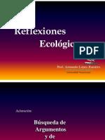 REFLEXIONES ECOLOGICAS