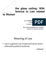Law Related to Women