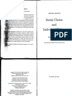 Kenneth Joseph Arrow, Social Choice and Individual Values [Second Edition - Extracto]