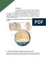 Cuestionario  de geologia