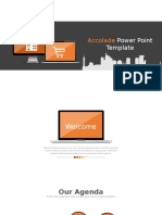 Powerpoint Template Orange