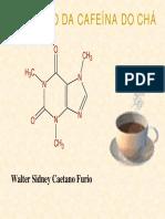 Extração e Purificação Da Cafeína BAC 2004