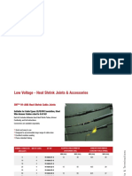 3M Low Voltage Joints Terminations Catalogue