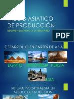 Modo Asiatico de Producción