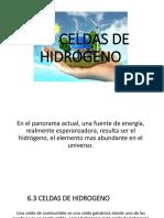 Celdas de Hidrogeno