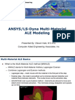 ANSYS/LS-Dyna Multi-Material ALE Modeling