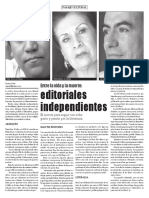 Entre La Vida y La Muerte Editoriales Independientes