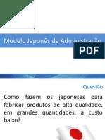 Modelo Japonês de Administração 2
