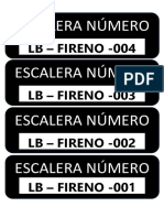 Sticker Escaleras