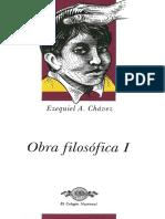 Obras I Ezequiel a. Chávez