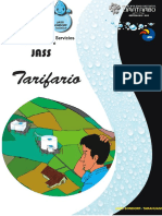 TARIFARIO. SONDORF