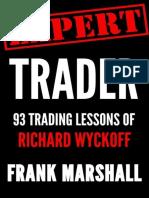 Expert Trader_ 93 Trading Lesson - Frank Marshall