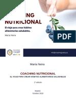 eBook Coaching Nutricional- El Viaje Para Crear Habitos Alimentarios Saludables