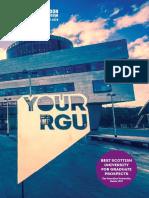 RGU UG Prospectus 2018
