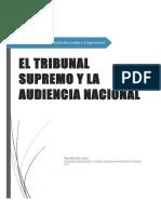 Tribunal Supremo y La Audiencia Nacional