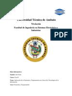 Aplicación de La Geometría y Trigonometría en El Área de La Tecnologías de La Información.