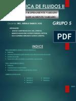 Diapositivas-grupo-n-5-Flujo Rapidamente Variado Resalto Hidraulico y Flujo Gradualmente Variado