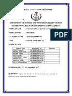 Goup 10 SHRM Assignment.docx