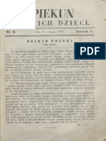 Opiekun Polskich Dzieci. R.1, Nr 4 (19 Sierpnia 1867)
