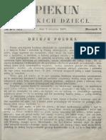 Opiekun Polskich Dzieci. R.1, Nr 2 (2 Sierpnia 1867)