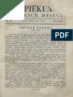 Opiekun Polskich Dzieci. R.1, Nr 11 (7 Października 1867)