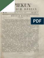 Opiekun Polskich Dzieci. R.1, Nr 9 (23 Września 1867)