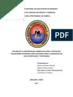 Estudio de Obtencion de Carbon Activado 1