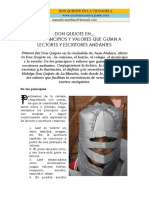 3. Don Quijote en 6 Guias de Creacion