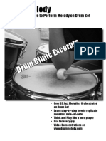 Drum Melody Clinic Full Packet