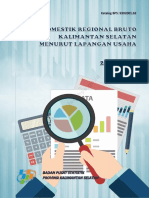 Produk Domestik Regional Bruto Kalimantan Selatan Menurut Lapangan Usaha 2012 2016