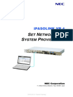 Network and Provisioning VR4 04 GGS-000393-01E NW-SYS-PROV