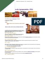 Instituto Mineiro de Agropecuária - IMA - Certificação Cachaça