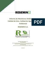 Informe de Monitoreo Ambiental