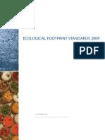 Ecological Footprint Standards 2009