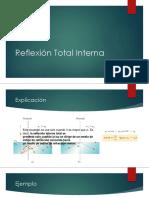 Clase 4 - Reflexión Total Interna