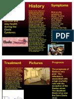 ebola brochure