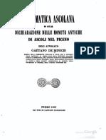 Numismatica Ascolana