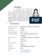 Curriculum Daniel - Flor